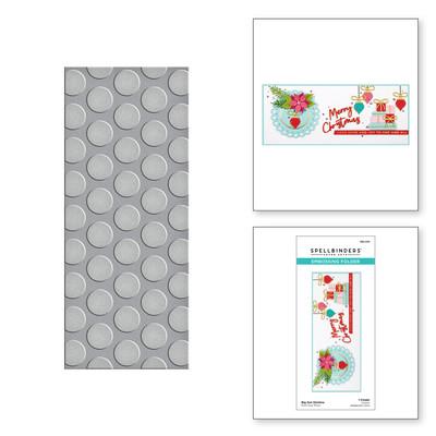 Embossing Folder, Slimline - Big Dot