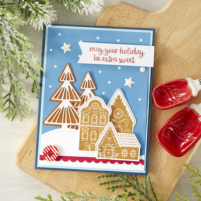 Cling Stamp, Sweet Gingerbread