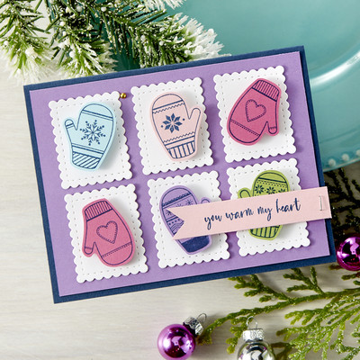 Clear Stamp, Smitten for Mittens