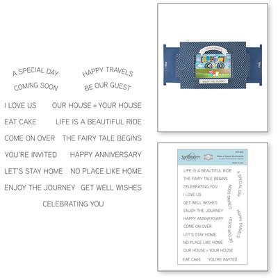 Clear Stamp, Make a Scene - Sentiments