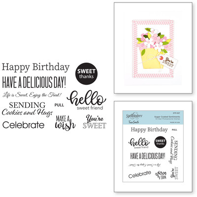 Clear Stamp, Sugar Coated Sentiments