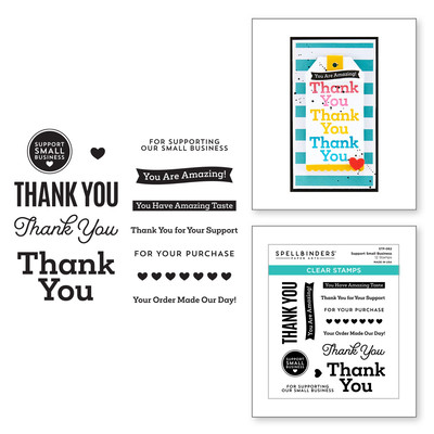 Clear Stamp, Small Business - Support Small Business