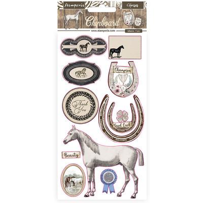 Chipboard, Horses
