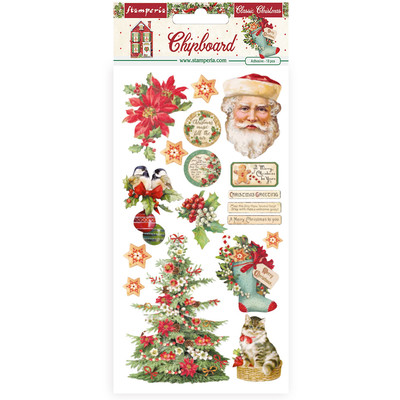 Chipboard, Classic Christmas