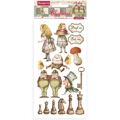 Chipboard, Alice Through the Looking Glass