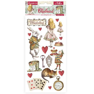 Chipboard, Alice In Wonderland