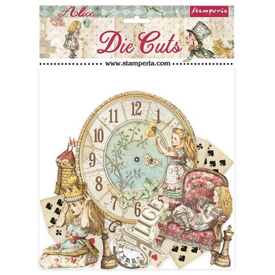 Die Cuts, Alice Through the Looking Glass