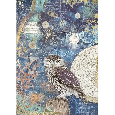 A4 Rice Paper, Cosmos Owl
