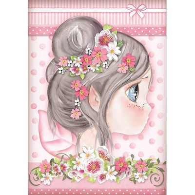 A4 Rice Paper, Pink Fairy