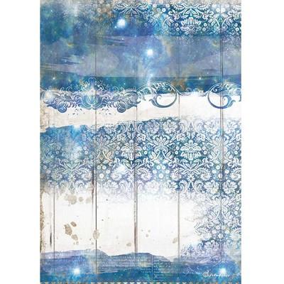 A4 Rice Paper, Romantic Sea Dream - Texture