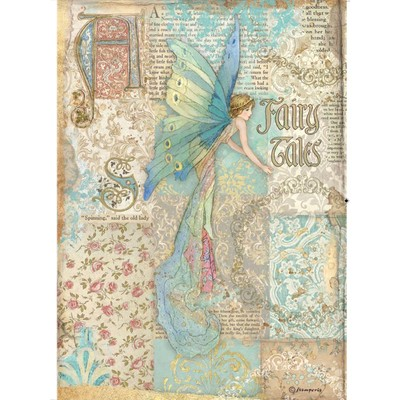 A4 Rice Paper, Sleeping Beauty - Fairy Tales