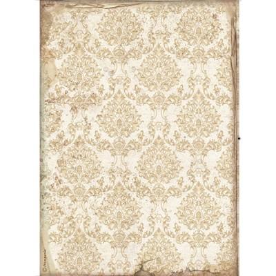 A4 Rice Paper, Sleeping Beauty - Wallpaper Gold