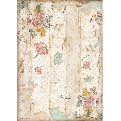 A4 Rice Paper, Alice Through the Looking Glass - Wall Texture