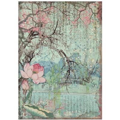A4 Rice Paper, Sir Vagabond in Japan - Oriental Tree