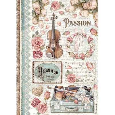A4 Rice Paper, Passion Music