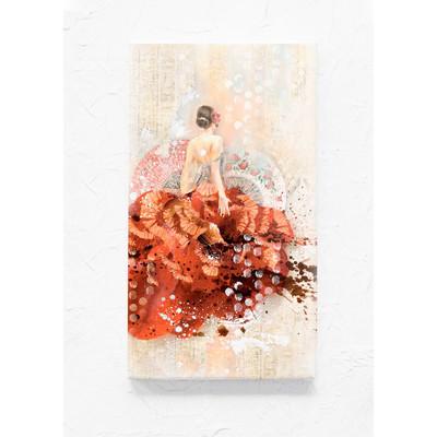 A4 Rice Paper, Monica's Canvas - Carmen