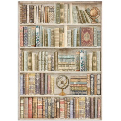 A4 Rice Paper, Lady Vagabond Lifestyle - Library
