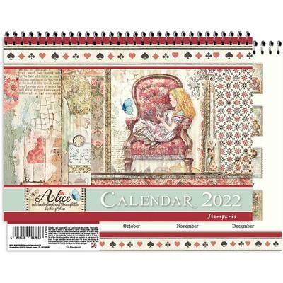 Calendar 2022, Alice in Wonderland & Through the Looking Glass