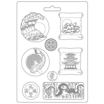 A4 Soft Mould, Sir Vagabond in Japan - Plates