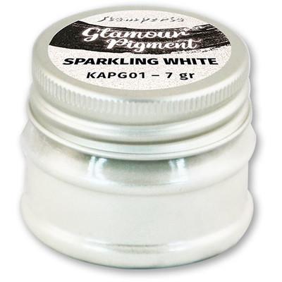 Glamour Powder Pigment, Sparkling White (7g)