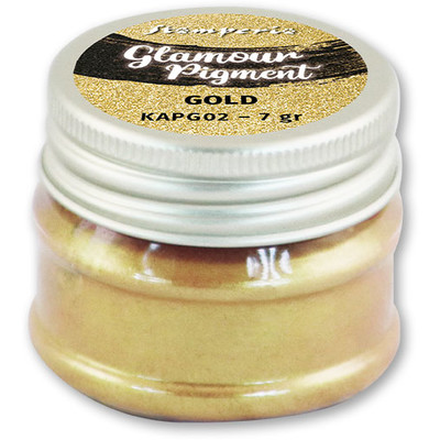 Glamour Powder Pigment, Gold (7g)