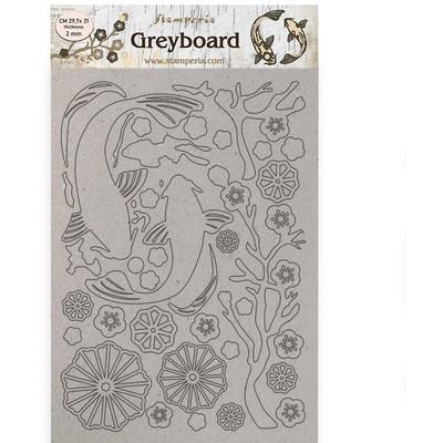 A4 Greyboard, Sir Vagabond in Japan - Fish