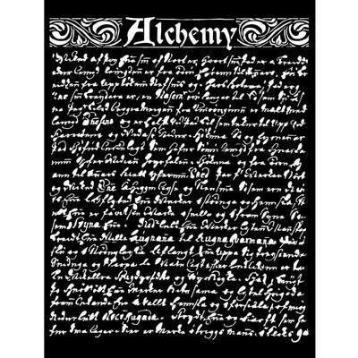 Thick Stencil, Alchemy - Texture