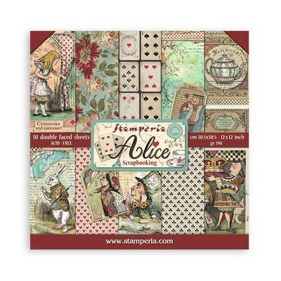 """30X30cm (12""""X12"""") Paper Pack, Alice"""