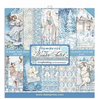 """30X30cm (12""""X12"""") Paper Pack, Winter Tales"""