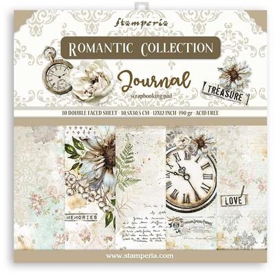 "30X30cm (12""X12"") Paper Pack, Romantic Journal"