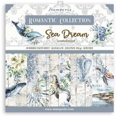 """30X30cm (12""""X12"""") Paper Pack, Romantic Sea Dream"""