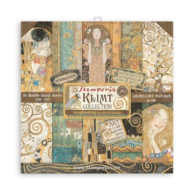 "20.3X20.3cm (8""X8"") Paper Pad, Klimt"