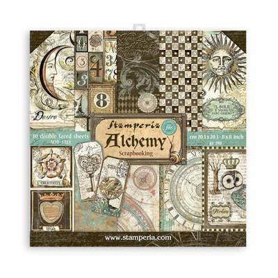 """20.3X20.3cm (8""""X8"""") Paper Pad, Alchemy"""