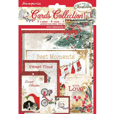 Cards Collection, Romantic Christmas