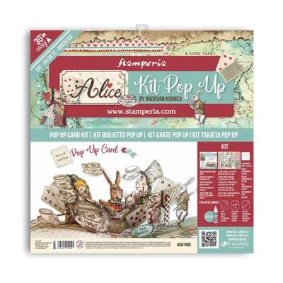Pop Up Card Kit, Alice