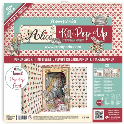 Tunnel Pop Up Kit, Alice in Wonderland & Through the Looking Gla