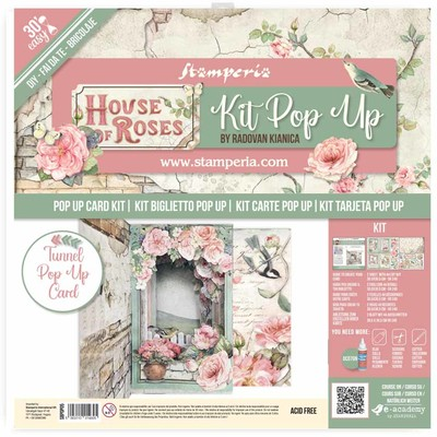 Tunnel Pop Up Kit, House of Roses