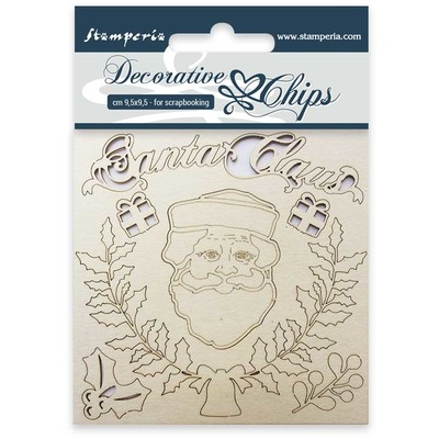 Decorative Chips, Santa Claus