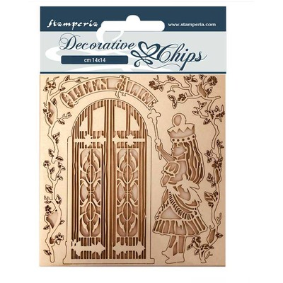 Decorative Chips, Alice Through the Looking Glass - Queen Alice