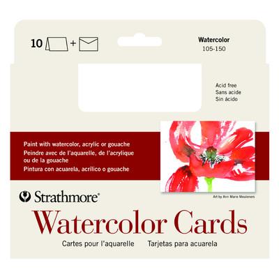 "Watercolor Cards, 5"" x 6.875"" (10pk)"