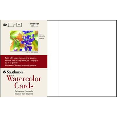 "Watercolor Cards, 5"" x 6.875"" (50pk)"