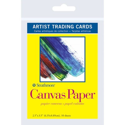 """Artist Trading Cards, 2.5"""" x 3.5"""" - 300 Series Canvas Paper"""