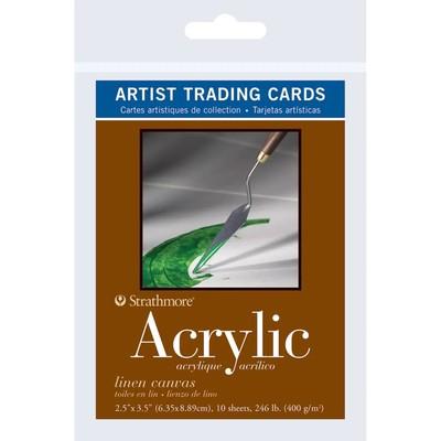 "Artist Trading Cards, 2.5"" x 3.5"" - 400 Series Acrylic"
