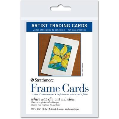 "Artist Trading Cards, 3.5"" x 4.875"" - Frame Cards"
