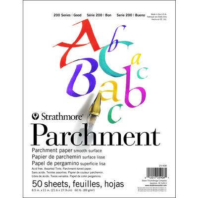 """200 Series Parchment Pad, 8.5"""" x 11"""""""