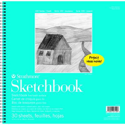 """100 Series Sketchbook, 12"""" x 12"""""""