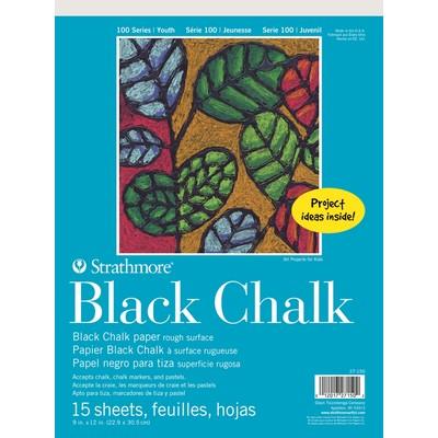 """100 Series Black Chalk Pad, 9"""" x 12"""""""