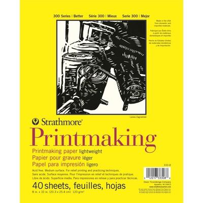 "300 Series Lightweight Printmaking Pad, 8"" x 10"""