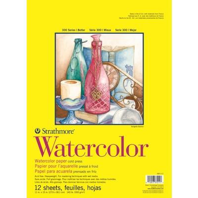 "300 Series Watercolor Pad, Cold Press - 11"" x 15"" (Tape Bound)"