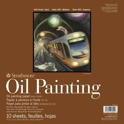 "400 Series Oil Painting Pad, 12"" x 12"""